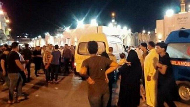 Bağdat'ta patlama:Çok sayıda ölü ve yaralı var