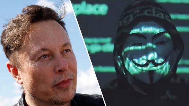 Anonymous Elon Musk'ı tehdit etti
