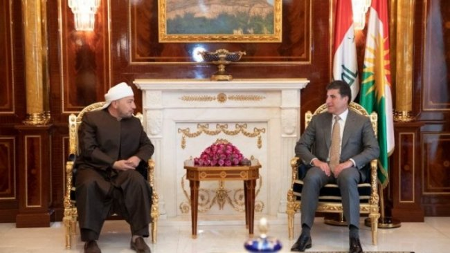 Başkan Neçirvan Barzani, Kürdistan İslam Alimleri Birliği heyetiyle görüştü