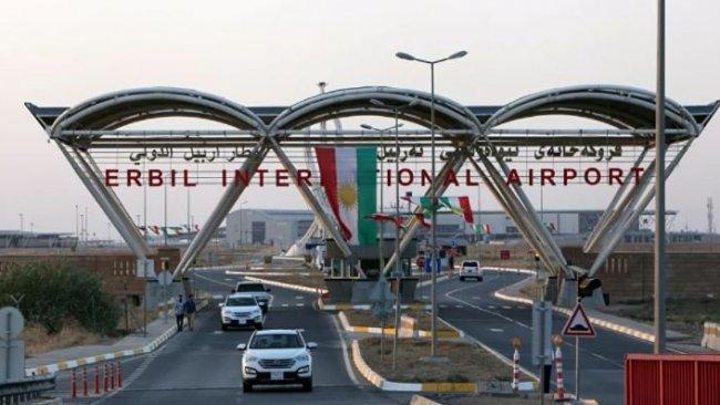 Erbil Havaalanı'nda 3 PYD'liye gözaltı