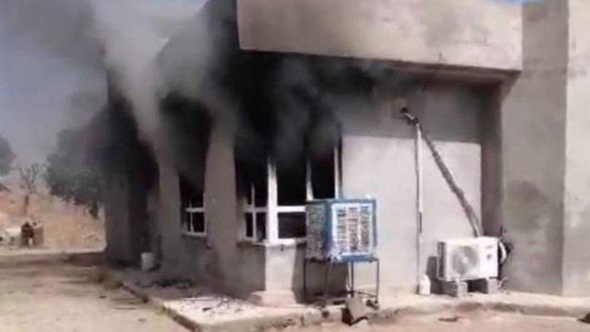 PKK Akre'de bir evi ateşe verdi