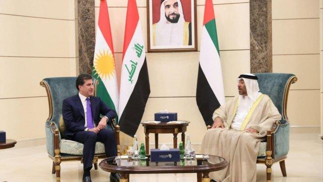 Başkan Neçirvan Barzani'den BAE'ye ziyaret