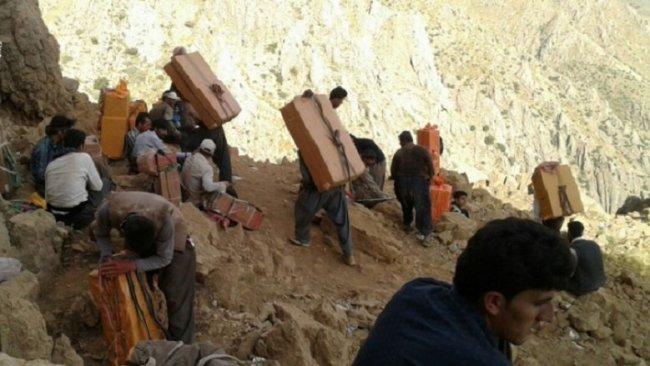 İran güçleri Kürt kolberlere saldırdı