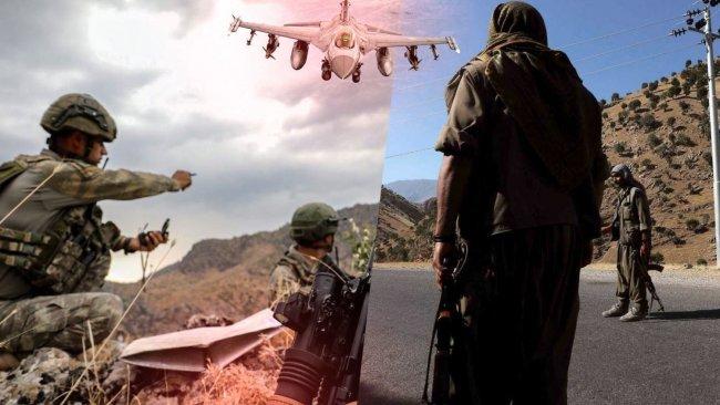 TSK ile PKK arasında şiddetli çatışma!
