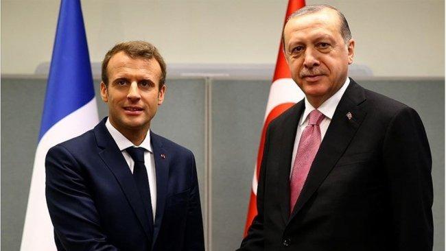 Macron'dan 'Erdoğan' açıklaması