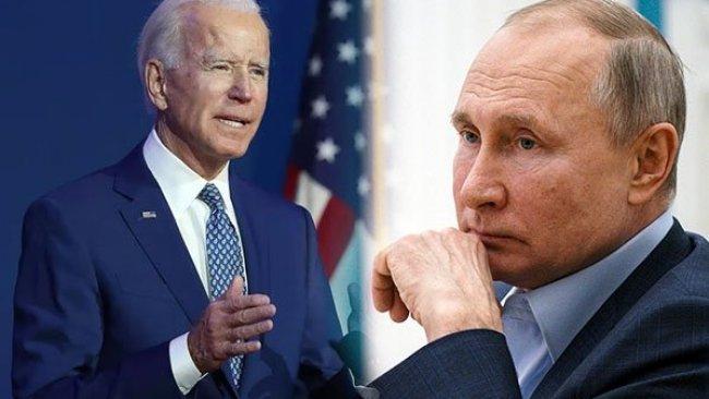 Biden: Putin'e kırmızı çizgileri göstereceğim