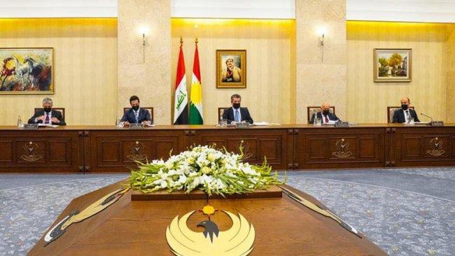 Başbakan Barzani'den Yüksek Müzakere Heyetine teşekkür