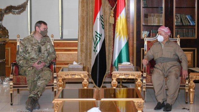 Başkan Barzani, Uluslararası koalisyon heyeti ile görüştü