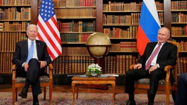 Putin ve Biden'dan Cenevre'deki zirve sonrası ortak bildiri