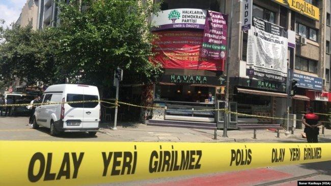 İzmir'de HDP binasına saldıran şahsın ilk ifadesine ulaşıldı