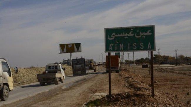 Türkiye'ye bağlı silahlı gruplar Ayn İsa'da DSG'ye saldırdı