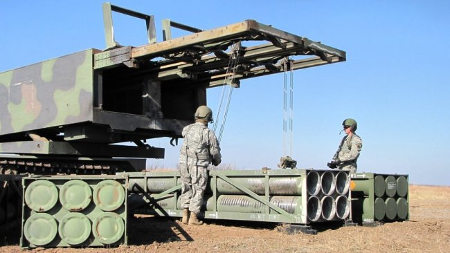 ABD insansız roket sistemini test etti