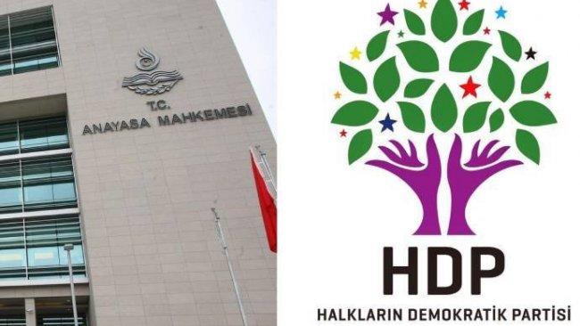 HDP iddianamesinin kabulü istendi