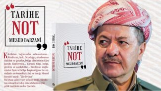 Mesud Barzani'nin 'Tarihe Not' kitabının Türkçesi Avesta Yayınları tarafından yayınlandı
