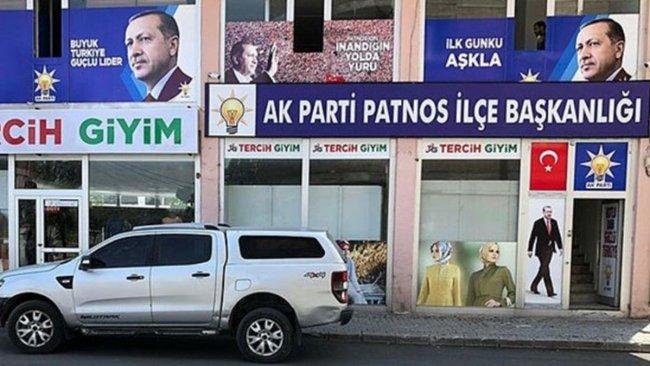 AK Parti Patnos ilçe başkanlığına saldırı girişimi