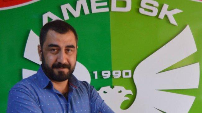 Amedspor'da yeni kulüp başkanı belli oldu