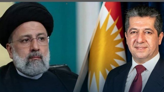 Başbakan Barzani İran Cumhurbaşkanı Reisi'yi tebrik etti