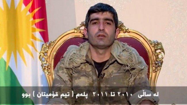 Üst düzey PKK'li komutan Peşmerge'ye teslim oldu