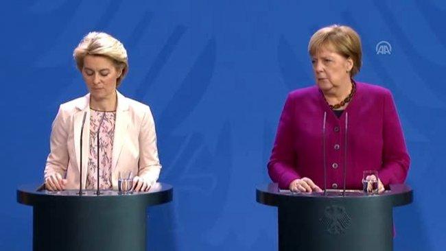 Merkel ve Leyen: Türkiye'ye destek vermeliyiz