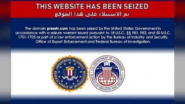 ABD, İran televizyonlarının internet sitelerine el koydu
