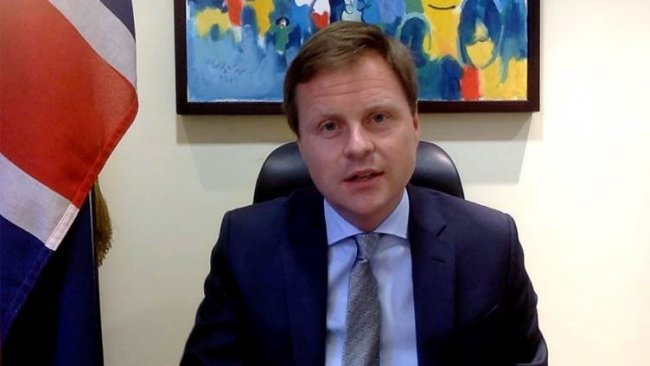 İngiliz Büyükelçi'den Erbil'deki dronlu saldırıya kınama