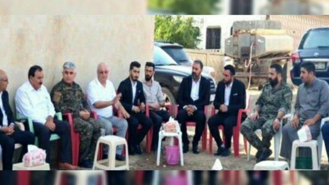 Rojava Özerk Yönetimi heyetinden Emin İsa'nın ailesine taziye ziyareti