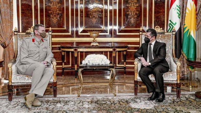Kürdistan Bölgesi ile Uluslararası Koalisyon arasında terör tehdidine karşı işbirliği vurgusu