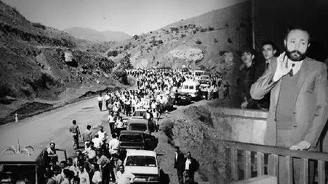 Kürt Yurtseveri Vedat Aydın'ı Saygıyla Anıyoruz