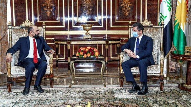 Başbakan Barzani, Suriye Barış ve Özgürlük Cephesi Başkanı'yla görüştü