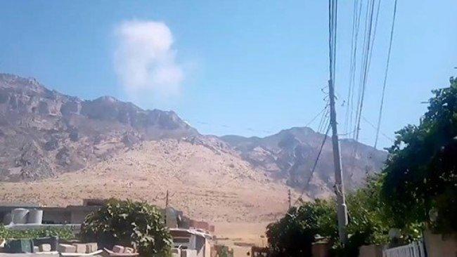 Türk savaş uçakları Şeladize kırsalını bombaladı