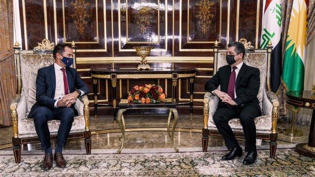 Başbakan Barzani'den Peşmerge'ye yardımlarından dolayı Belçika'ya teşekkür