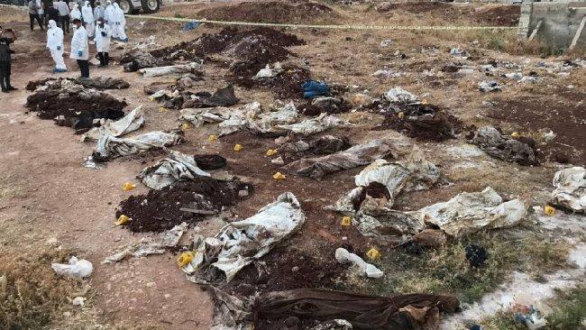 Afrin'de ortaya çıkan mezarlara ilişkin yeni detaylar