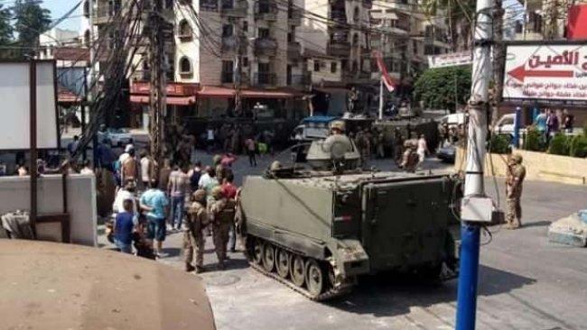 Lübnan'da çatışma: 25 yaralı