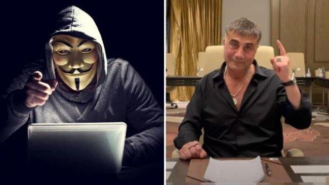 Anonymous'tan Sedat Peker'e ağır sözler: Yürü git, faşist