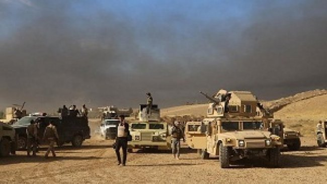 Irak-Suriye sınırında Heşdi Şabi'ye hava saldırısı