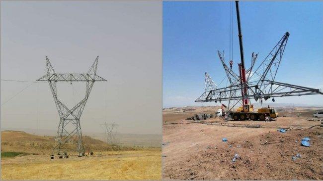 Irak ve Kürdistan Bölgesi elektrik hattı Türkiye'ye bağlanıyor