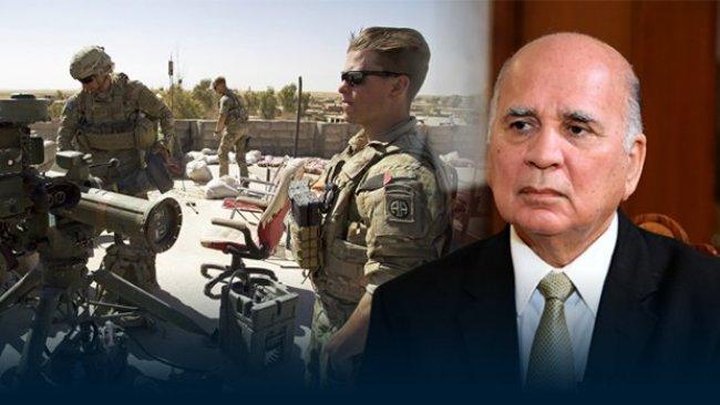 Fuad Hüseyin: Irak'ta ABD üssü yok