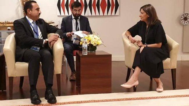 Paris Belediye Başkanı'ndan Başkan Barzani'ye övgü