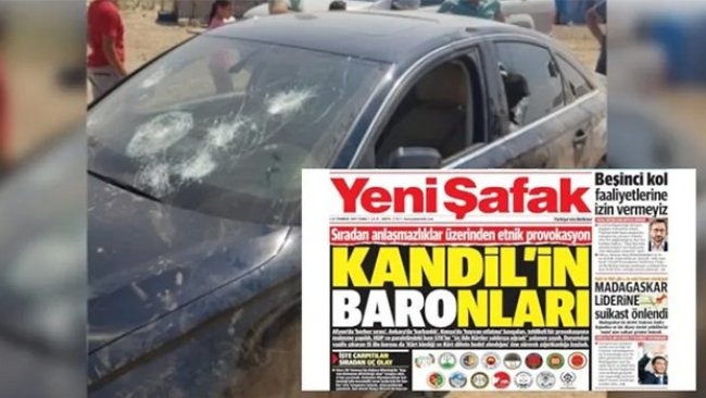 PAK: Yeni Şafak Gazetesi Irkçı Saldırganların Suç Ortaklığını Yapıyor