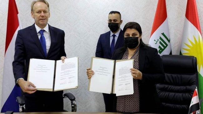 Kürdistan Bölgesi ile Hollanda arasında anlaşma