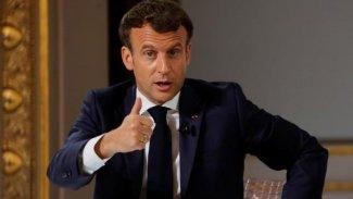 Macron İsrail'den açıklama istedi