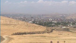 Edremit'ten yüzlerce Afgan mülteci girişi oldu