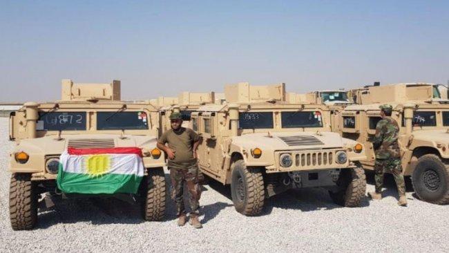 Koalisyon'dan Peşmerge'ye yeni askeri yardım