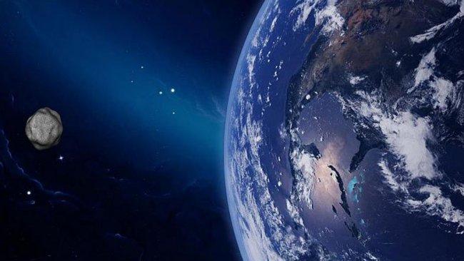 NASA: Bir göktaşı, bugün Dünya'nın yakınından geçecek
