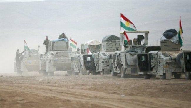 Peşmerge Güçlerin'den IŞİD'e karşı operasyon