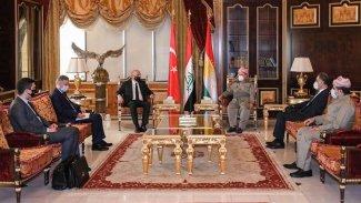 Başkan Barzani, Türkiye'nin Bağdat Büyükelçisi ile görüştü