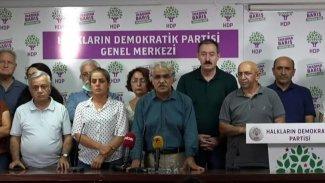 HDP Eş Başkanı Sancar: Saldırıların sorumlusu iktidardır