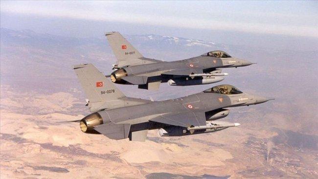 TSK'dan Kandil, Gare, Hakurk ve Zap'a hava operasyonu