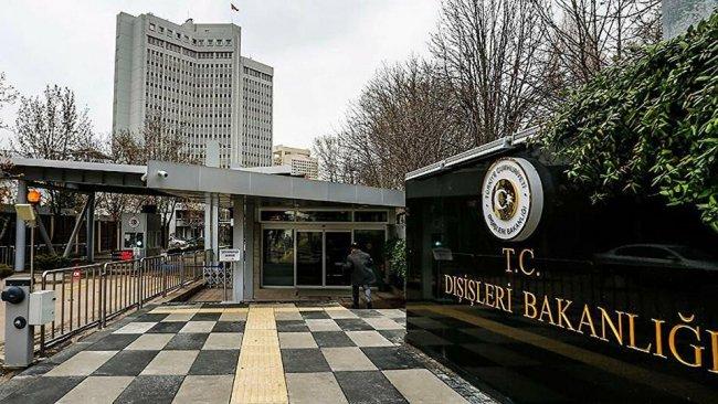Türkiye Dışişleri Bakanlığı'ndan ABD'ye tepki: 'Kabul etmiyoruz'