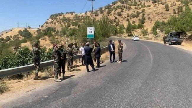 Peşmerge Güçleri, PKK'nin yola döşediği bomba düzeneğini etkisiz hale getirdi